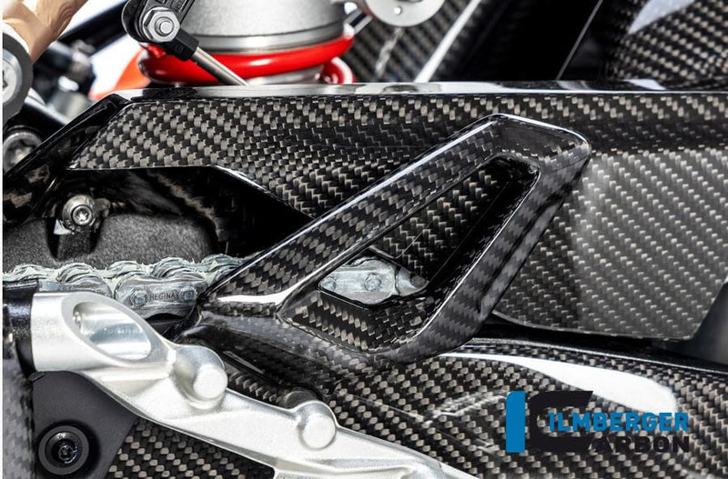 ILMBERGER Carbon Fiber Heel Guard (Left) for Street/Racing '19-'20 BMW S1000RR
