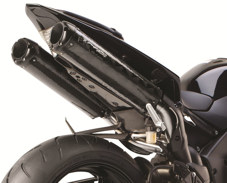 Two Brothers V.A.L.E. M2/M2 Black Series Slip-On Exhaust Systems 2009-2012 Yamaha YZF R1