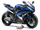 LuiMoto Team Yamaha Seat Cover 2008-2015 Yamaha YZF R6 - Cf Black/White/Blue