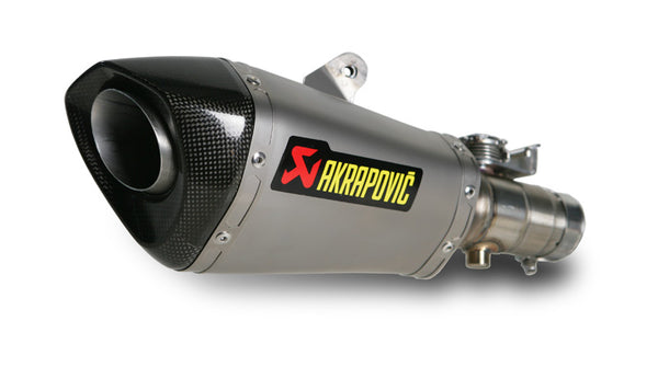 Akrapovic Slip-On Line (Titanium) EC Type Approval Exhaust System 2010-2015 Yamaha YZF R6