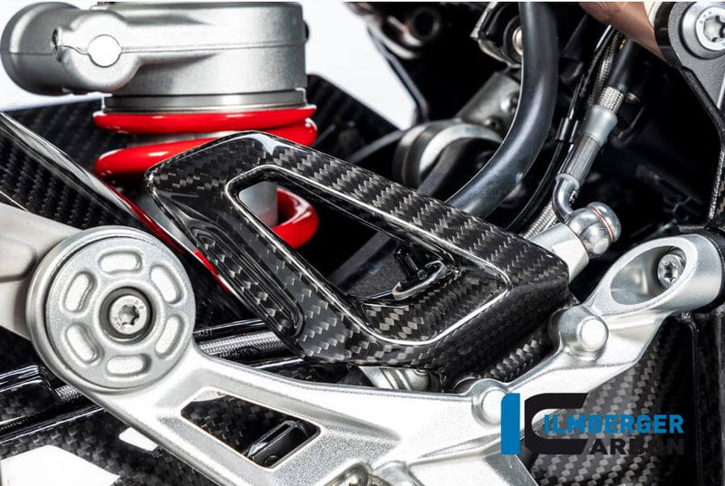 ILMBERGER Carbon Fiber Heel Guard (Right) for Street/Racing '19-'20 BMW S1000RR