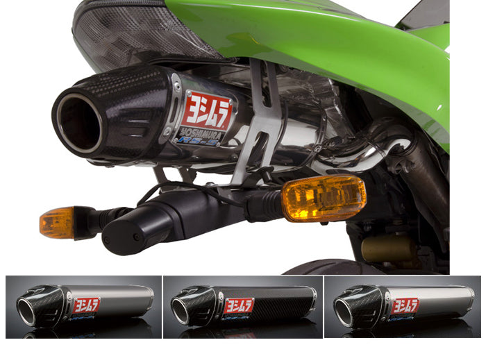 Yoshimura Street RS-5 Slip-on Exhaust System for '05-'06 Kawasaki ZX6R