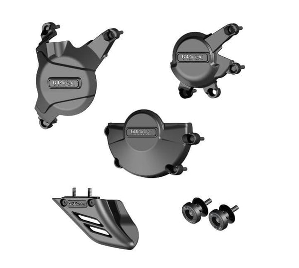 GB Racing STOCK Engine Covers Protection Bundle for '07-'16 Honda CBR600RR