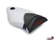 LuiMoto Motorsports Edition Seat Cover 2009-2011 BMW S1000RR - Black/White