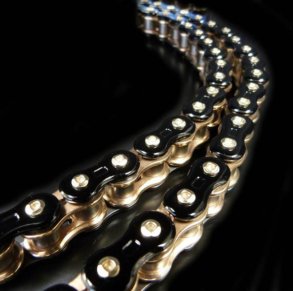 EK Threed (3D) 520GP Roadrace Chain - Black/Gold