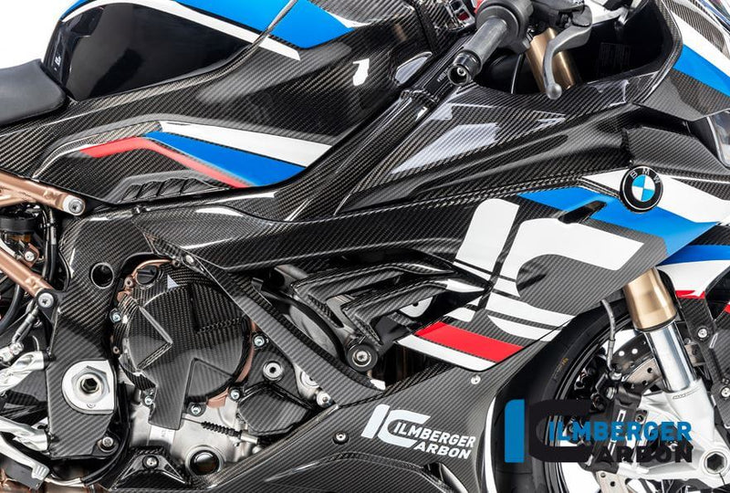 ILMBERGER Carbon Fiber Big Frame Cover (Right) for Racing/ Street'19-'20 BMW S1000RR