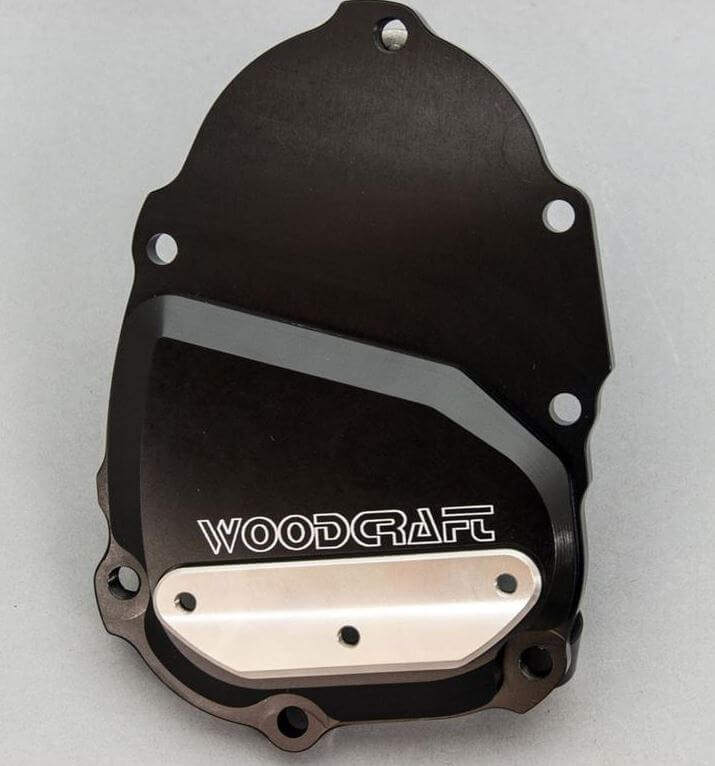 WoodCraft Right Side Engine Cover (Ignition) '06-'19 Yamaha YZF-R6