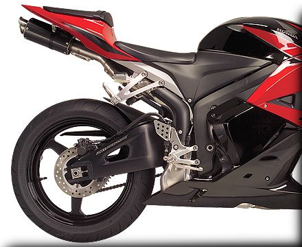 Hotbodies Racing MGP Growler Carbon Slip-on Exhaust System 2007-2012 Honda CBR600RR