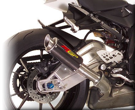Hotbodies Racing MGP Growler Carbon Slip-on Exhaust 2010-2012 BMW S1000RR