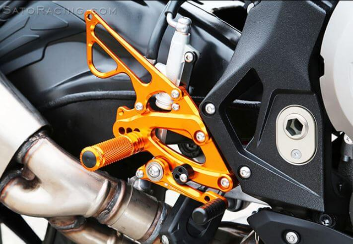 Sato Racing Adjustable Rearsets 2017-2018 BMW S1000RR
