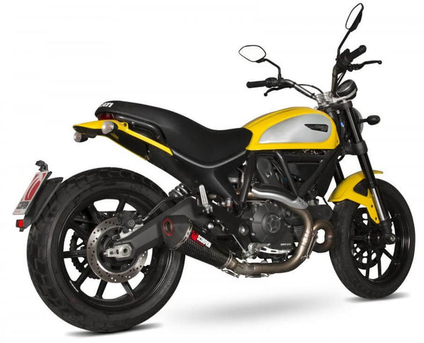 Scorpion Serket Taper Slip-On Exhaust '15-'19 Ducati Scrambler 803
