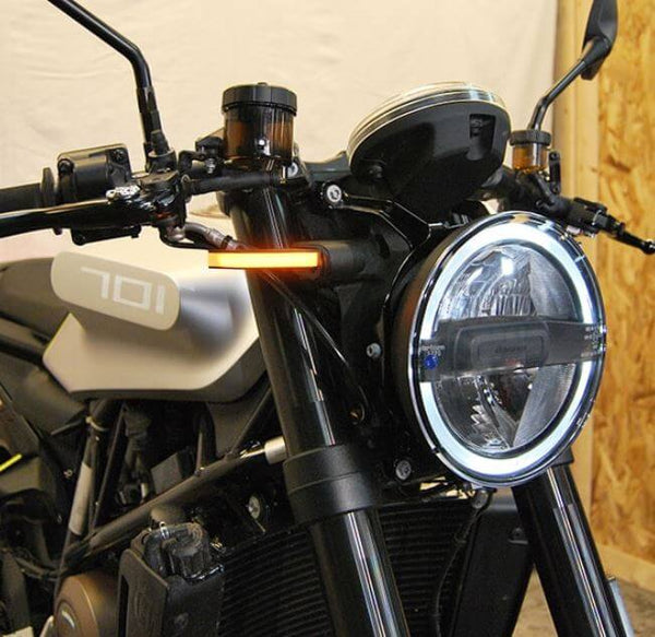 New Rage Cycles Front Turn Signals for Husqvarna Vitpilen 701