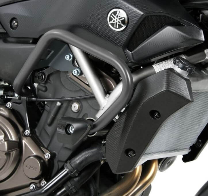 Hepco & Becker Engine Guard w.Sliders '14-'19 Yamaha MT-07 / FZ-07