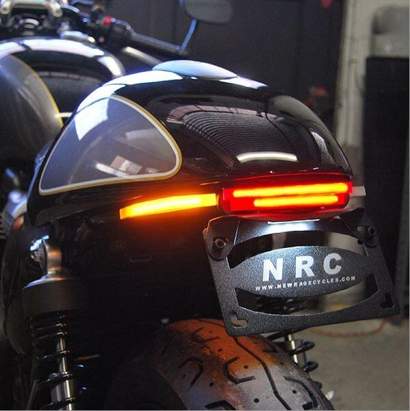 New Rage Cycles Fender Eliminator Kit for Triumph Street Cup
