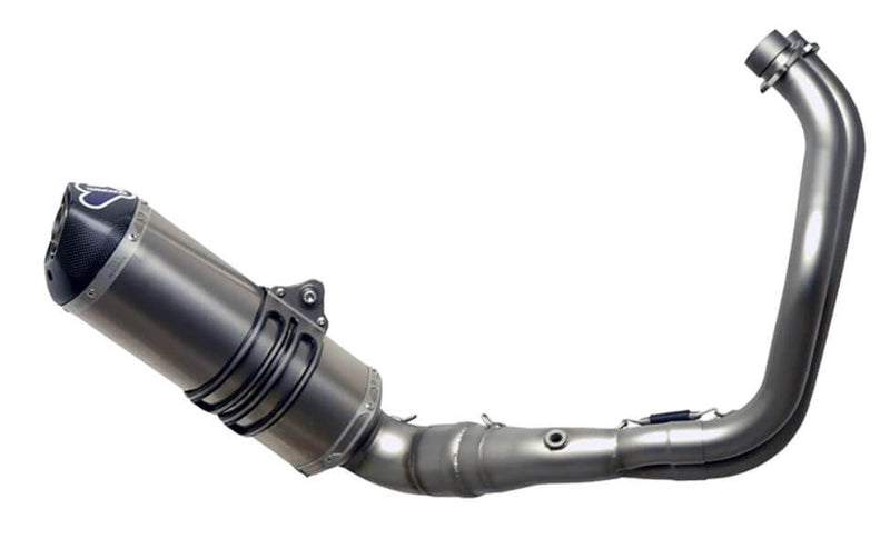 Termignoni Relevance Stainless/Titanium Full Exhaust System '15-'19 Yamaha FZ-07/MT-07/XSR700