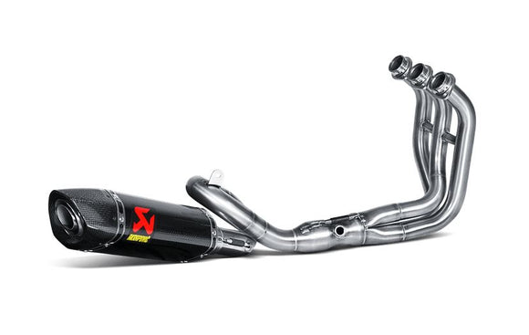 Akrapovic Racing Line (Carbon) Full Exhaust System '14-'18 Yamaha FZ-09/MT-09, '16-'18 XSR900 | S-Y9R2-AFC