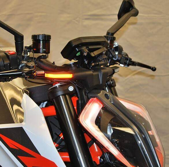 New Rage Cycles Front Turn Signals 2013-2018 KTM 1290 SuperDuke/R