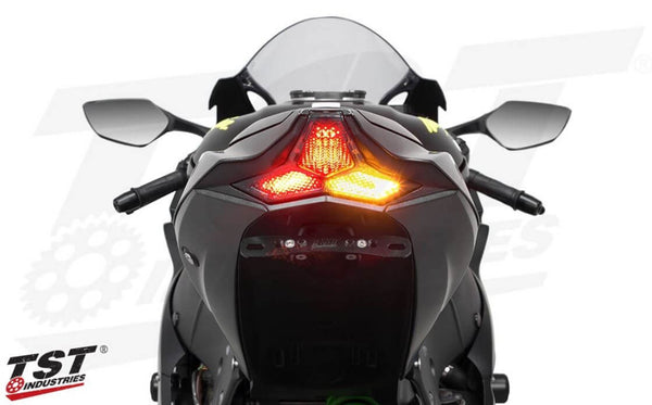 TST Industries LED Integrated Tail Light 2016-2019 Kawasaki ZX10R