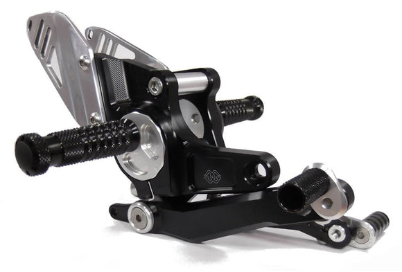 Gilles Tooling RCT10GT Adjustable Rearsets 2013-2016 BMW R nine T