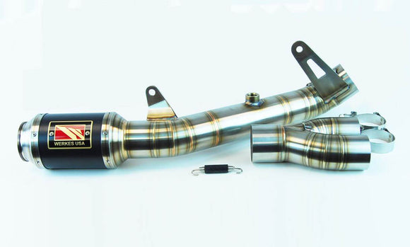 Competition Werkes GP Race Stainless Steel Slip-On Exhaust 2017+ Yamaha YZF R6