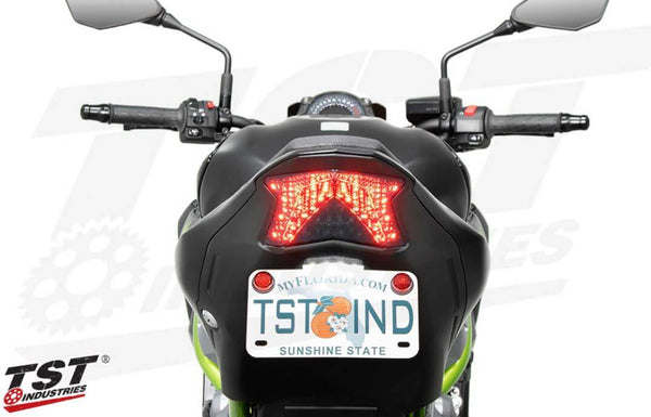 TST Industries Programmable Sequential LED Integrated Tail Light '17-19 Kawasaki Z900