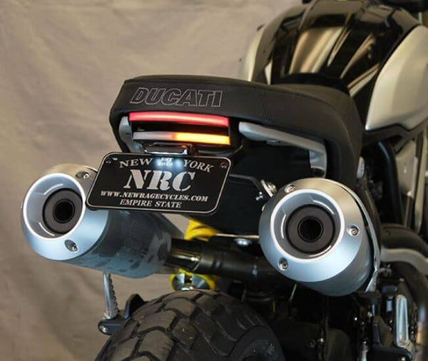 New Rage Cycles Fender Eliminator Kit 2018+ Ducati Scrambler 1100