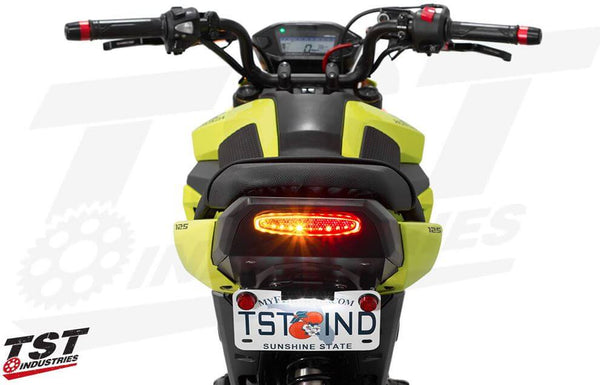 TST Industries Undertail, Fender Eliminator & Integrated LED Tail Light System '17-'20 Honda Grom