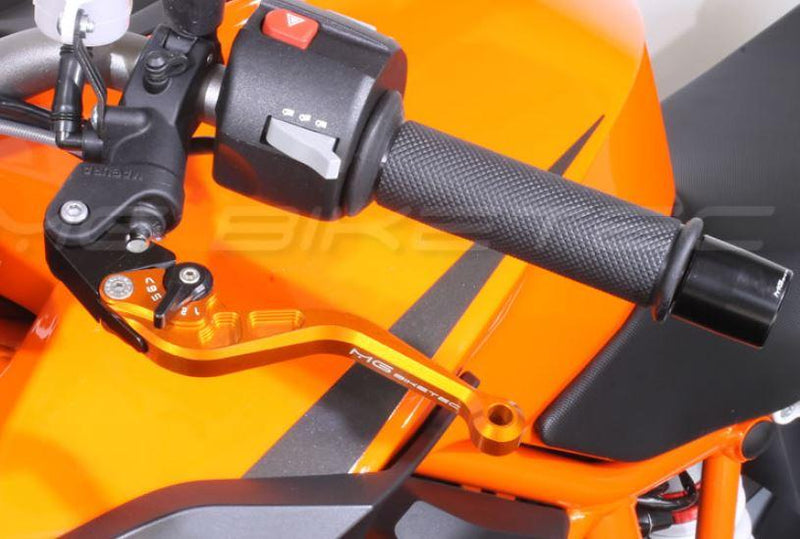 MG BikeTec Short Brake & Clutch Levers '08-'15 Triumph Street Triple 675R