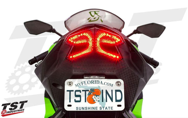 TST Industries LED Integrated Tail Light 2013-2018 Kawasaki ZX6R