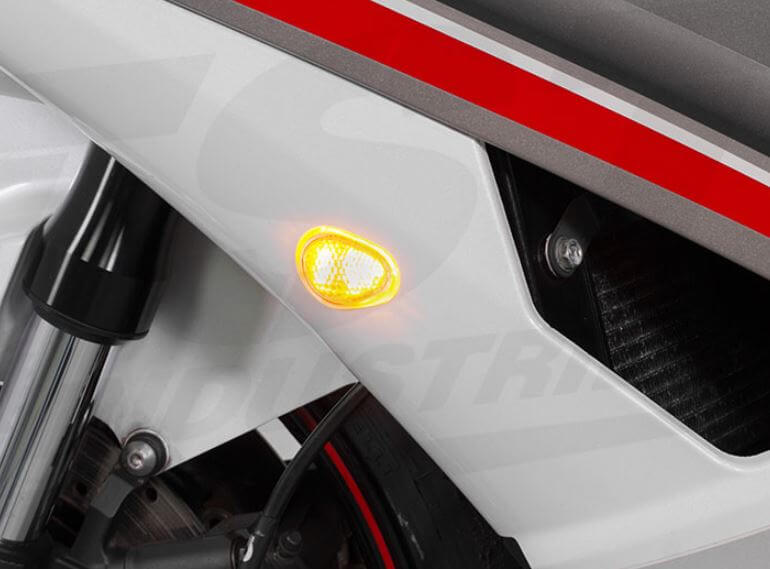 TST Industries HALO-GRT Front LED Flushmount Turn Signals '08-'16 Yamaha R6