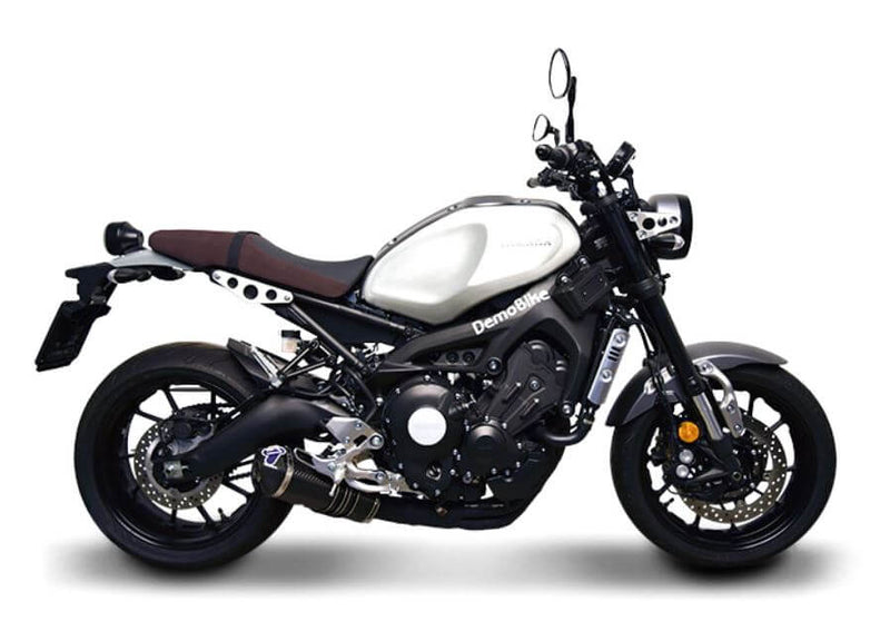 Termignoni Relevance Total Black Edition Full Exhaust System '14-'19 Yamaha MT-09/FZ-09/XSR900