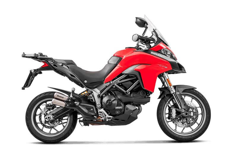Akrapovic Slip-On Line (Titanium) Exhaust 2017-2018 Ducati Multistrada 950/1200 Enduro