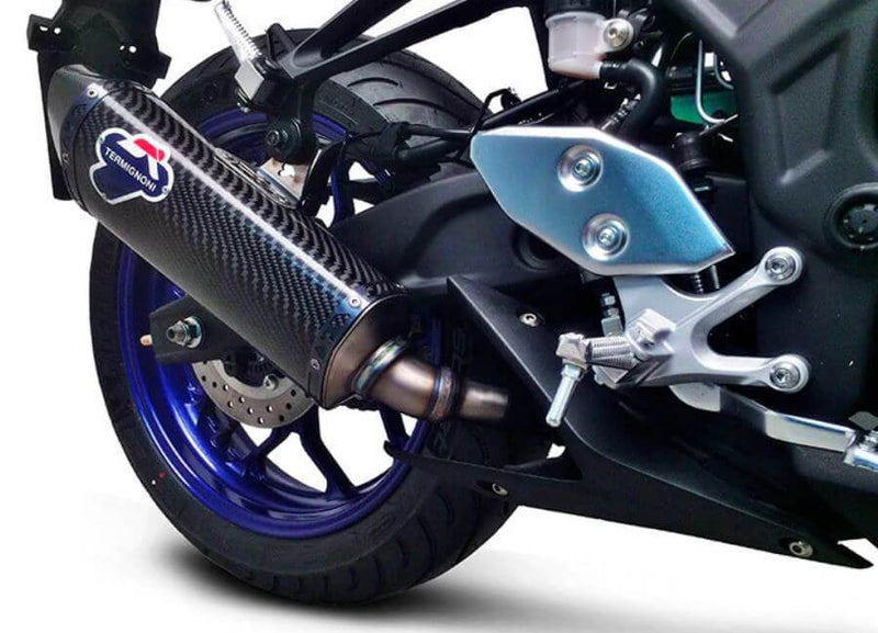 Termignoni Force Slip-On Exhaust '15-'19 Yamaha YZF R3