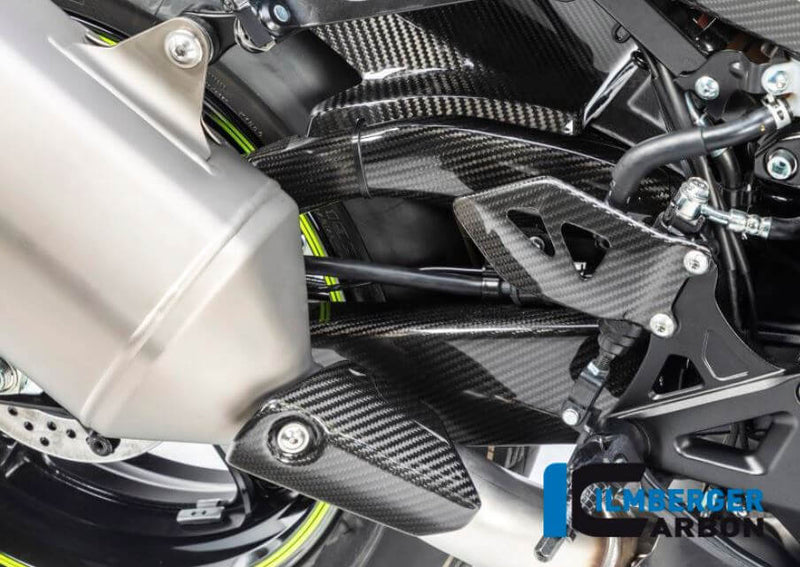 ILMBERGER Carbon Fiber Swingarm Cover (Right) 2017-2018 Suzuki GSX-R1000/R