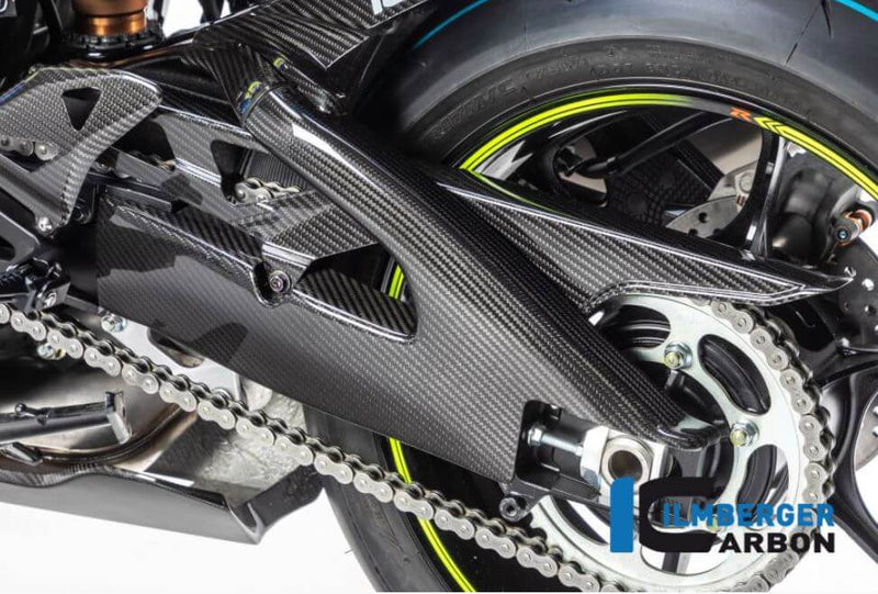 ILMBERGER Carbon Fiber Swingarm Cover (Left) 2017-2018 Suzuki GSX-R1000/R