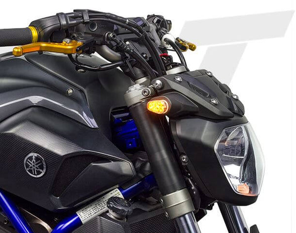 TST Industries LED Front Flushmount Turn Signals for Yamaha