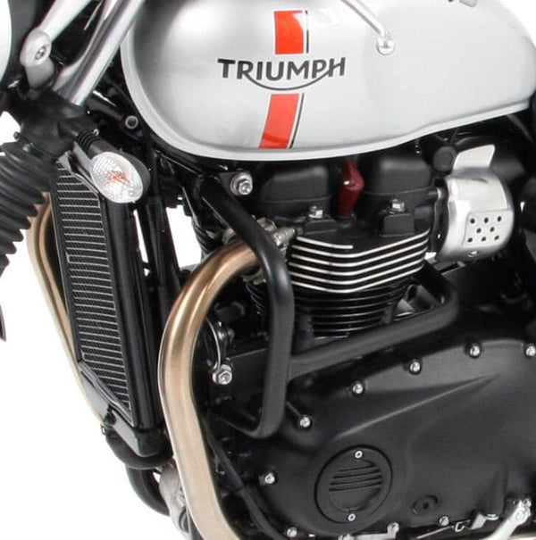Hepco & Becker Engine Guard for '16-'17 Triumph Thruxton/R, Bonneville T120/ Bobber