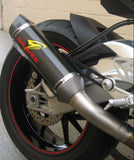 Graves Motorsports Carbon Cat Black Slip On Exhaust 2015-2016 BMW S1000RR