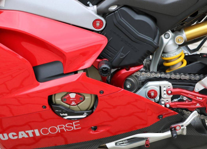 CNC Racing Frame Crash Protections 2018+ Ducati Panigale V4/S
