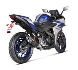 Akrapovic Racing Line (Carbon) Full Exhaust System for 2015-2018 Yamaha YZF R3 | S-Y3R1-APC