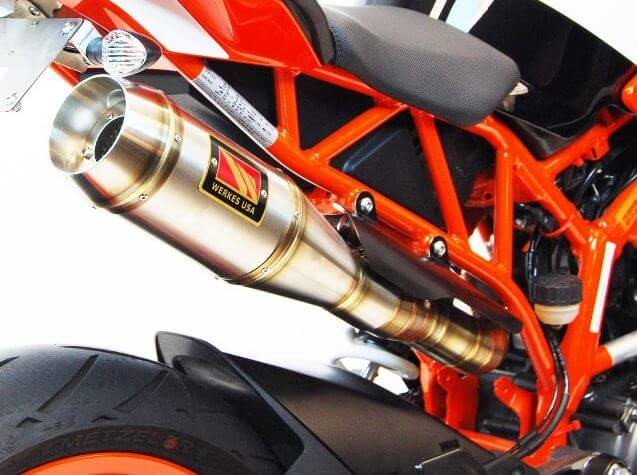 Competition Werkes GP High Mount Slip-On Exhaust 2017-2018 KTM RC390
