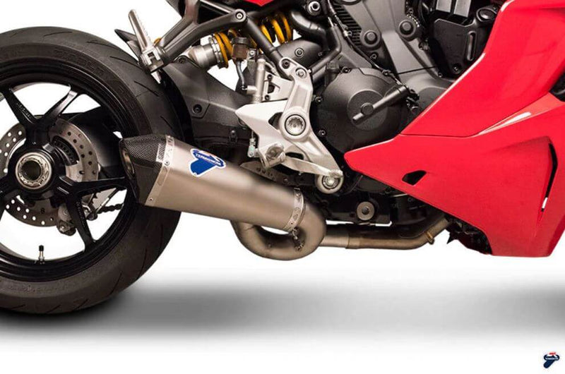 Termignoni Scream Stainless/Titanium Slip-On Exhaust '16-'20 Ducati Supersport 939