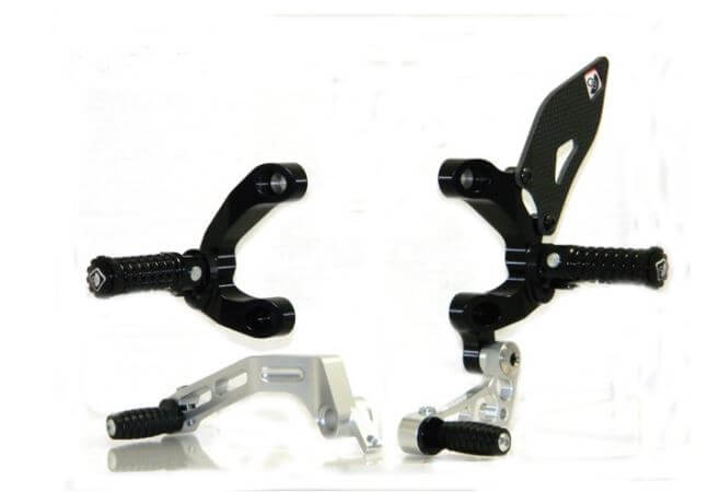 Ducabike Adjustable Rearsets for Ducati Streetfighter 848/1098