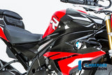 ILMBERGER Carbon Fiber Tank Side Panel (Right) '15-'18 BMW S1000RR, '14-'18 S1000R