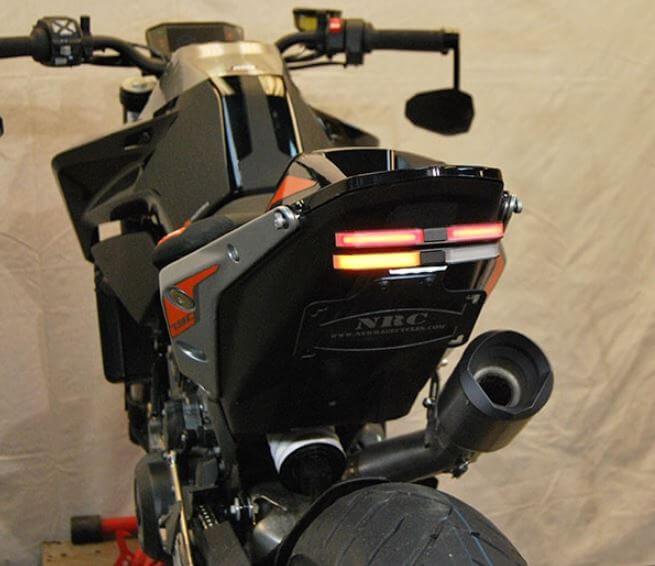 New Rage Cycles Fender Eliminator Kit 2018+ KTM 790 Duke