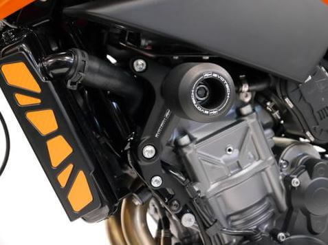 Evotech Performance Frame Sliders / Crash Bobbins 2018+ KTM 790 Duke