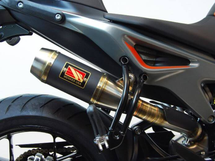 Competition Werkes GP High Slip-On Exhaust '18-'19 KTM 790 Duke