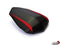 LuiMoto Team Yamaha Seat Cover 2009-2014 Yamaha YZF R1 - CF Black/SP Red