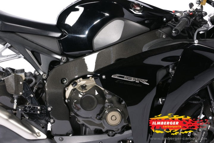 ILMBERGER Carbon Frame Cover for 2008-2011 Honda CBR1000RR