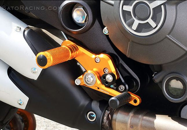Sato Racing Rear Sets for 2015- Ducati Scrambler